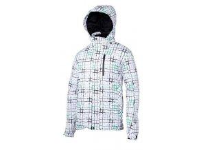 Dětská zimní bunda V3Tec Urian bílo zelená vel. 116